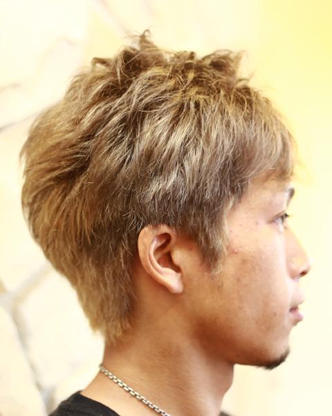 相模原 橋本駅 理容 美容室スタイルのヘアカラー写真5