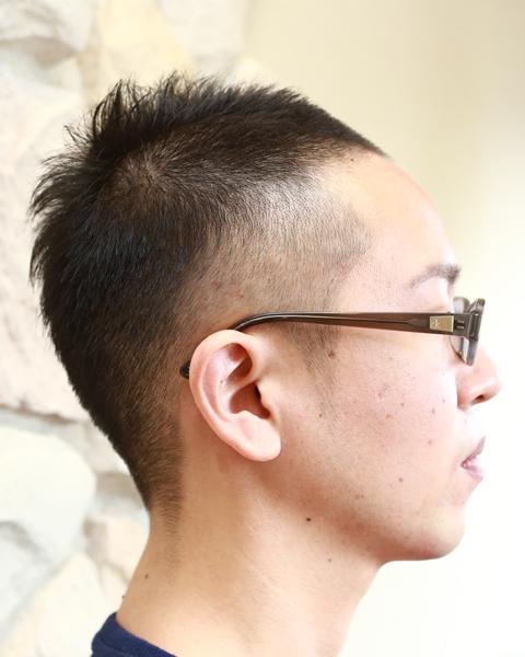 相模原市橋本の理美容室メンズヘアサロンカットショップスタイルのベリーショート
