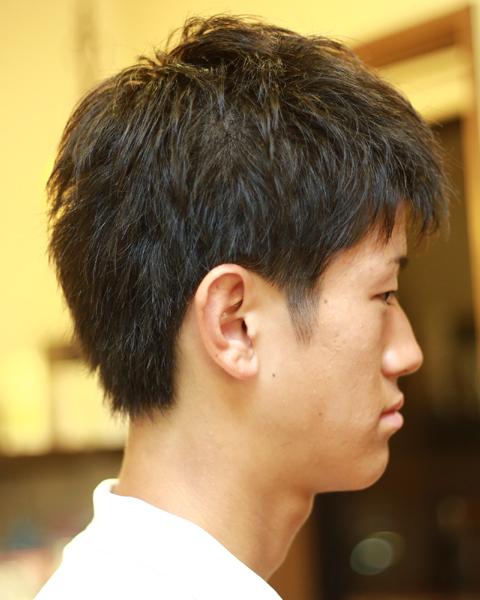 相模原 橋本駅 理容 美容室スタイルの高校生ヘア2